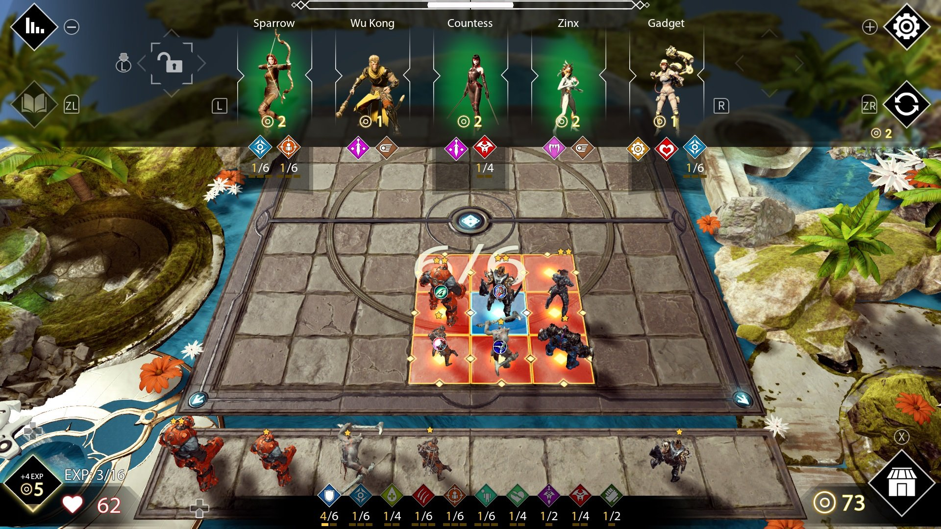 Auto-Chess-Heroes-of-Paragon-game