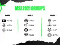 MSI 2021 グループステージ